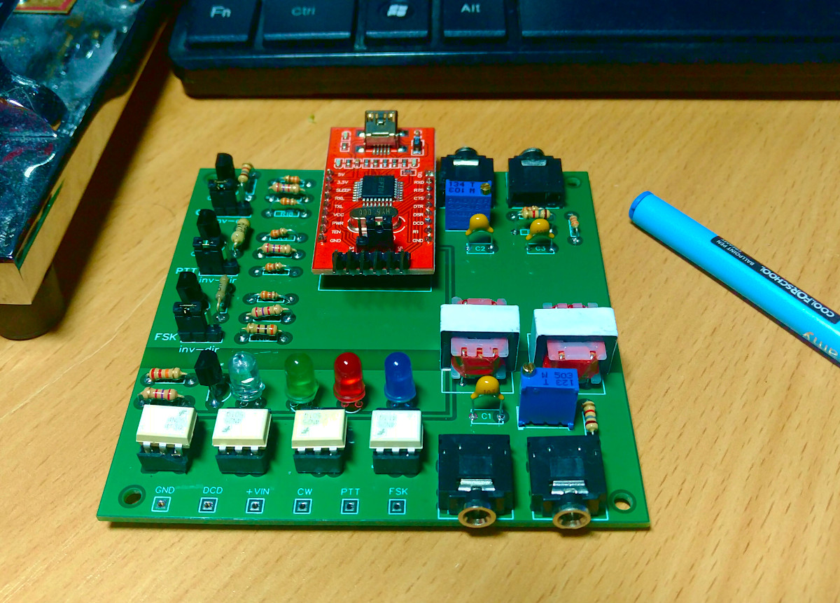Interface PC Transceiver USB connect